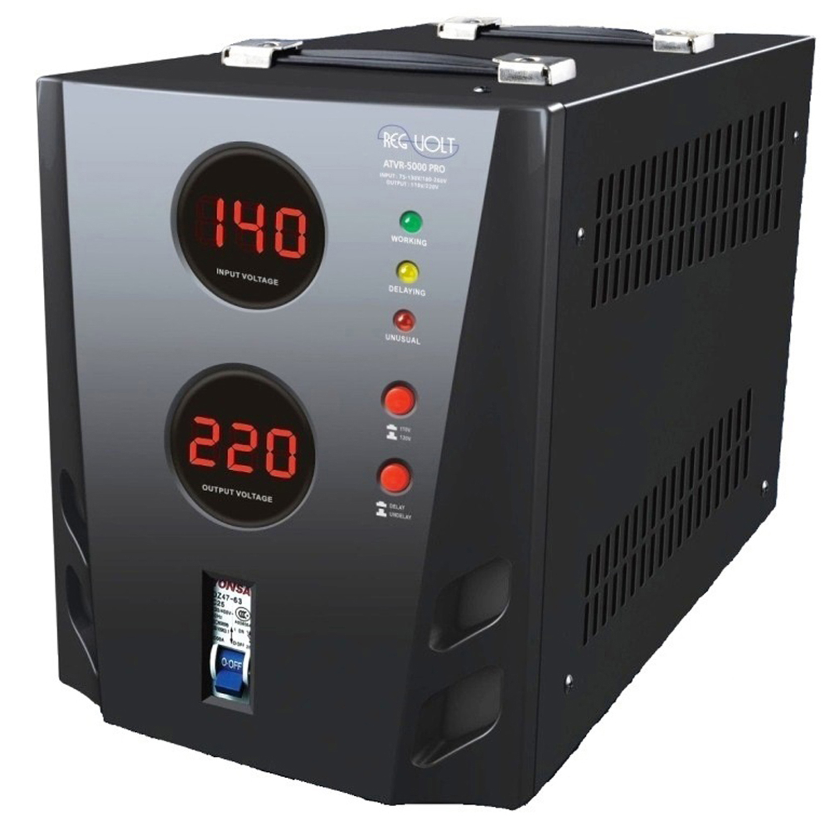 Regvolt Atvr 3000 Deluxe Automatic Voltage The Power You Need About 5000 Watt Converter Transformer Step Up Down 110v 220v